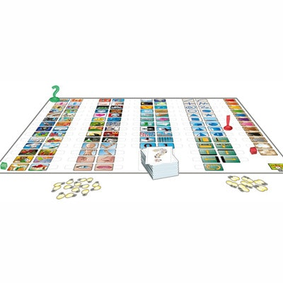 Afbeelding van het speelbord van het bordspel Concept