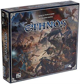 Productfoto van de speldoos van het bordspel Ethnos