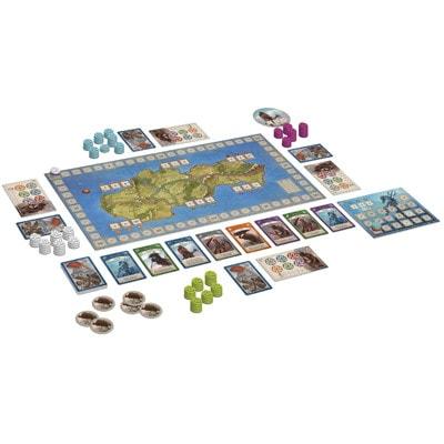 Afbeelding van het speelbord van het bordspel Ethnos