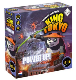 Productfoto van de speldoos van het bordspel King of Tokyo Power Up Expansion