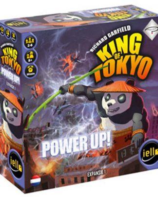 Productfoto van de speldoos van het bordspel King of Tokyo Power Up Expansion
