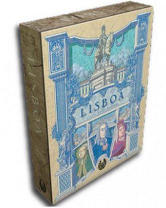 Productfoto van de speldoos van het bordspel Lisboa