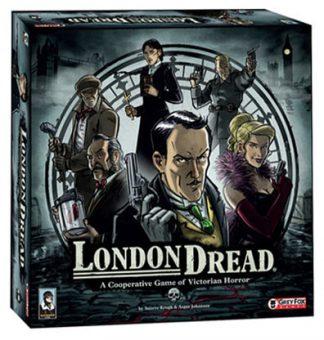 Productfoto van de speldoos van het bordspel London Dread