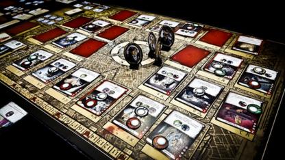 Afbeelding van het speelbord van het bordspel London Dread