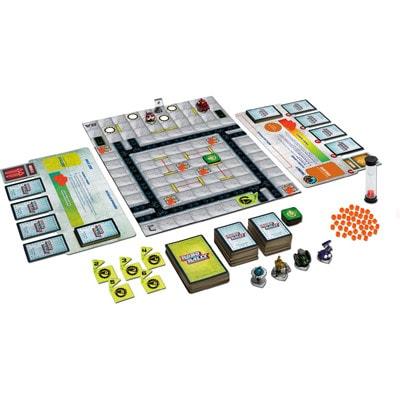 Afbeelding van het speelbord van het bordspel Robo Rally