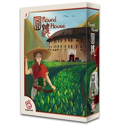 Productfoto van de speldoos van het bordspel Round House