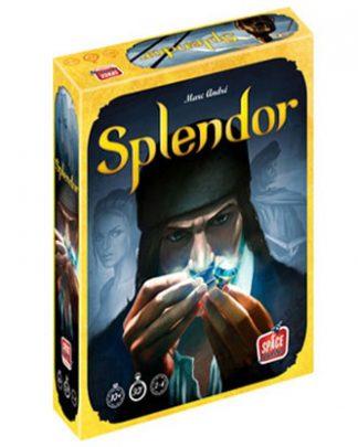 Productfoto van de speldoos van het bordspel Splendor