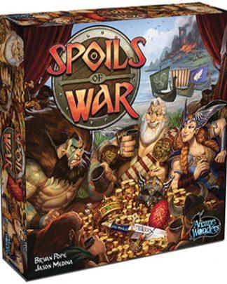 Productfoto van de speldoos van het bordspel Spoils of War