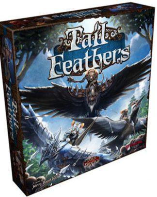 Productfoto van de speldoos van het bordspel Tail Feathers