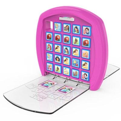 Afbeelding van een opengeklapt speelbord van het bordspel Top Trumps Disney Match Princess