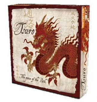Productfoto van de speldoos van het bordspel Tsuro