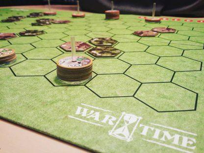 Afbeelding van een spelimpressie van het bordspel Wartime