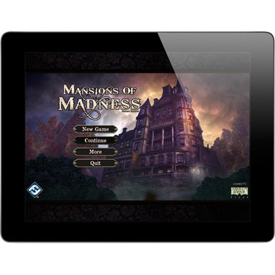 App behorend bij Mansions of Madness Second Edition