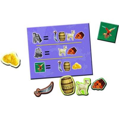 Bouwkaart en grondstoffen Catan Junior