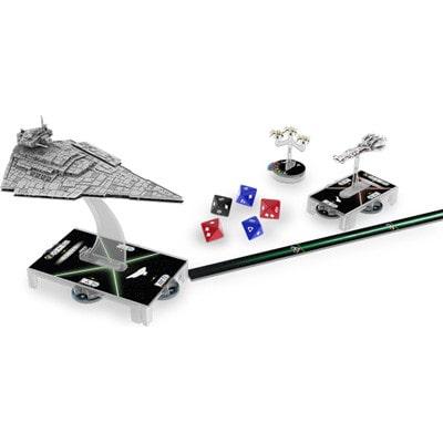 Figuren en dobbelstenen van Star Wars Armada
