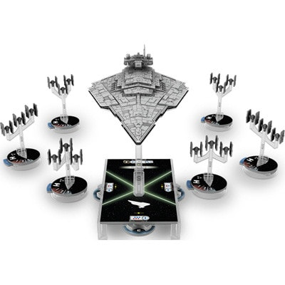 Figuren van Star Wars Armada