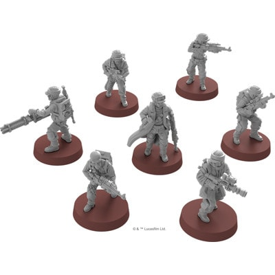 Figuren van Star Wars Legion