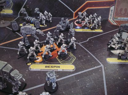 Geverfde spelfiguren van Star Wars Rebellion