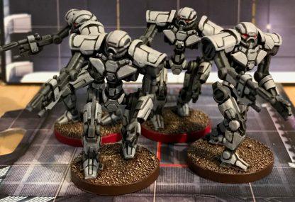 Impressie van geverfde figuren van Star Wars Imperial Assault Heart of the Empire