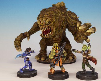 Impressie van geverfde figuren van Star Wars Imperial Assault Jabba's Realm Campaign 2
