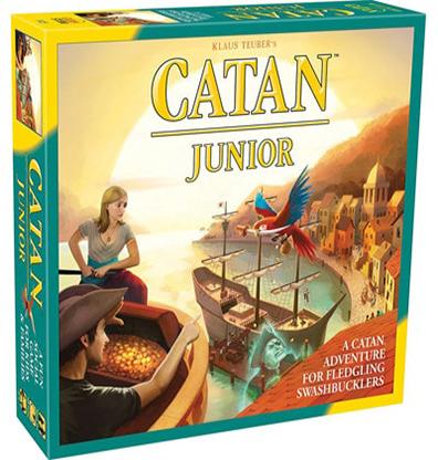 Productfoto van het bordspel Catan Junior Engels