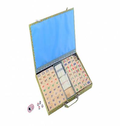Productfoto van het legspel Mahjong Kunststof Urea Stenen