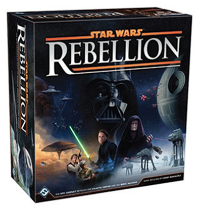 Productfoto van het Star Wars Rebellion bordspel