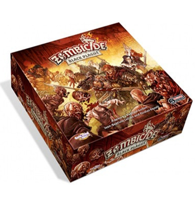 Productofot van het bordspel Zombicide Black Plague