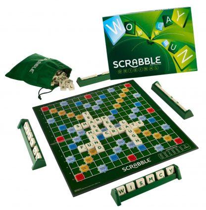 Speelbord en stenen van Scrabble Original