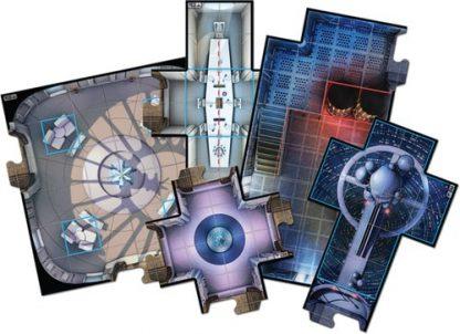 Speelbord onderdelen van Star Wars Imperial Assault The Bespin Gambit