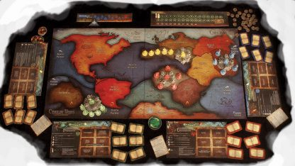 Speelbord van Cthulhu Wars