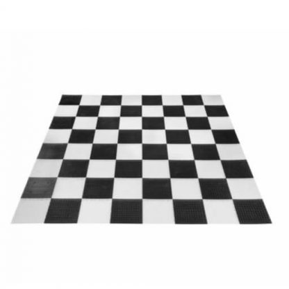 Speelbord van Kunststof Mattenset voor Tuinschaak