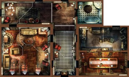Speelbord van Mansions of Madness Second Edition