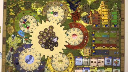 Speelbord van Tzolkin De Kalender van de Maya's