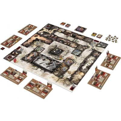 Speelbord van Zombicide Black Plague
