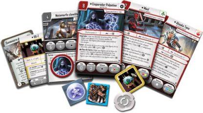 Speelkaarten van Star Wars Imperial Assault Heart of the Empire