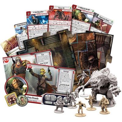 Speelkaarten van Star Wars Imperial Assault Jabba's Realm Campaign