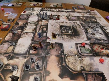 Spelimpressie van Zombicide Black Plague