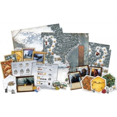 Spelonderdelen Game of Thrones Catan Brotherhood of the Watch