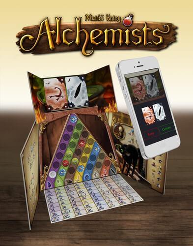 Spelonderdelen van De Alchemist