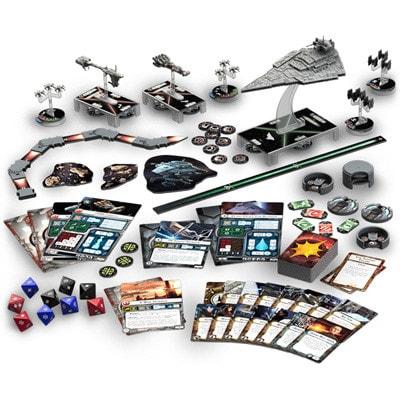 Spelonderdelen van Star Wars Armada
