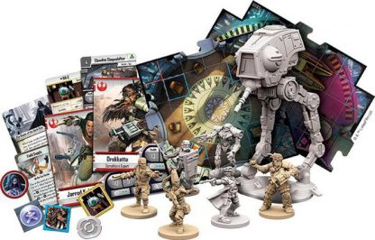 Spelonderdelen van Star Wars Imperial Assault Heart of the Empire