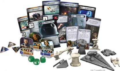 Spelonderdelen van Star Wars Rebellion Rise of the Empire