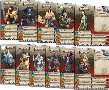 Survivor kaarten van Massive Darkness