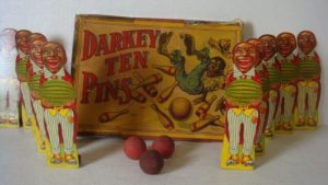 Darkey Ten Pins bordspel