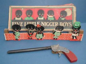 Five Little Nigger Boys bordspel