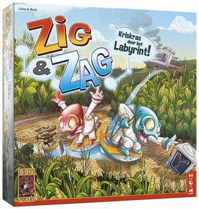 Productfoto van het bordspel Zig & Zag
