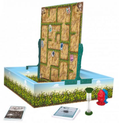 Speelbord van het bordspel Zig & Zag