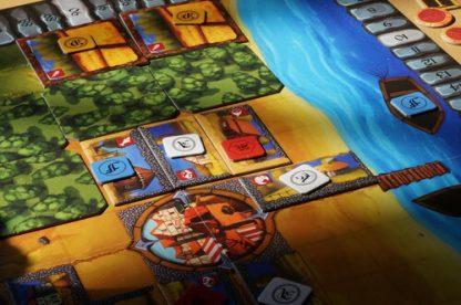 Afbeelding van een spelimpressie van De Poorters van Nieuwstad