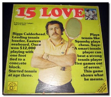 15 Love bordspel